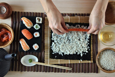 sushi-wrap